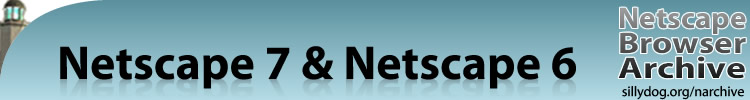 Netscape 7 and Netscape 6, Netscape Browser Archive